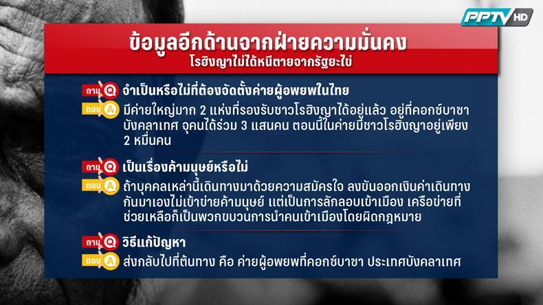 """8 ข้อที่คนไทยต้องรู้! """"โรฮิงญา"""" บางส่วนไม่ได้หนีตายจากยะไข่และไม่ได้โดนหลอกลงเรือ (คลิป)"""