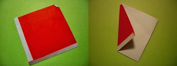 """เก๋เวอร์! วีธีพับ """"ลุงซานต้า"""" สุดน่ารักเป็นของขวัญรับวันคริสมาสต์"""