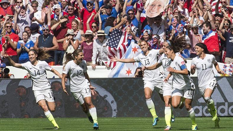 แข้งสาวสหรัฐฯ ถล่มญี่ปุ่น 5-2 คว้าแชมป์โลกสูงสุดสมัย 3