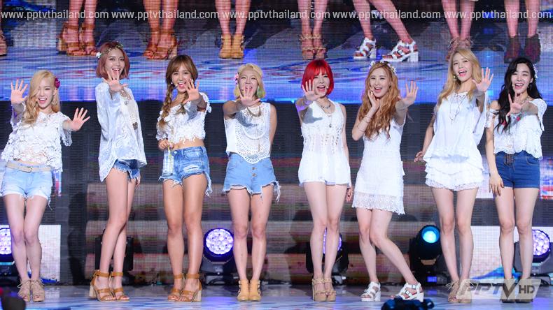 """ร้อนแรง! เพลง """"Party"""" ของ """"Girl's Generation"""" ออลคิลอันดับ 1 ชาร์ตเพลงดังเรียบ เบียด Sistar - Girl's Day ตกขอบ"""