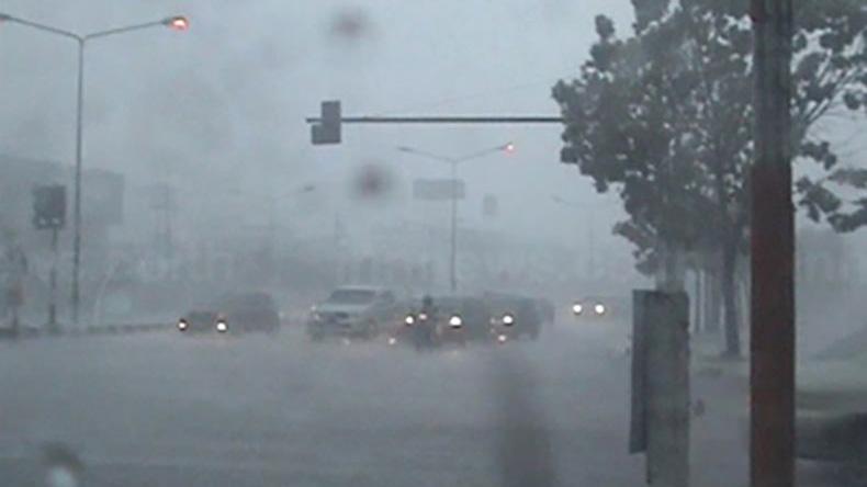"""อุตุฯ เผยพายุโซนร้อน """"คูจิระ"""" ทำอีสานฝนเพิ่ม กทม.ตก 40%"""