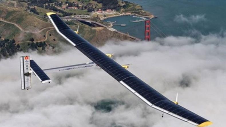 Solar Impulse-2 ได้ฤกษ์ทะยานขึ้นฟ้า สร้างสถิติบินรอบโลกโดยไม่ใช้น้ำมัน!