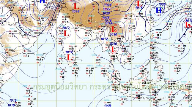 อุตุฯเตือน9-10มี.ค.เกือบทุกภาคฝนตกหนัก
