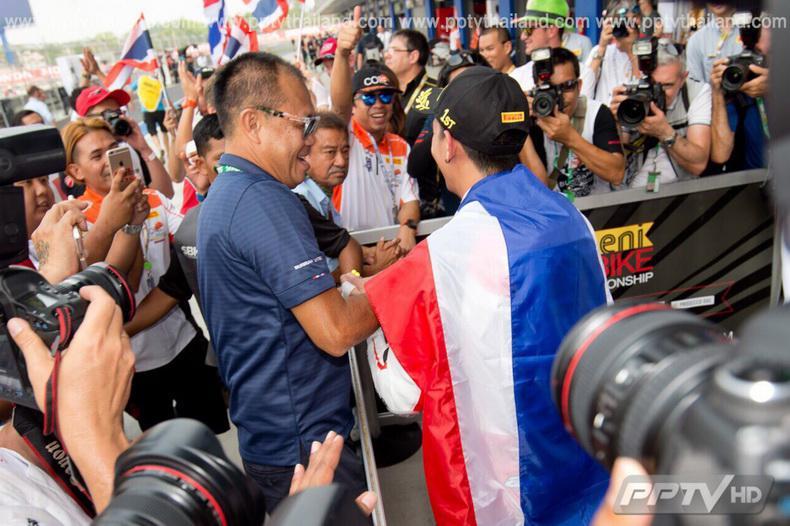 เพลงชาติไทยกระหึ่มช้างฯ เซอร์กิต 'รัฐภาคย์' คว้าแชมป์ประวัติศาสตร์ 'เวิลด์ ซูเปอร์สปอร์ต'