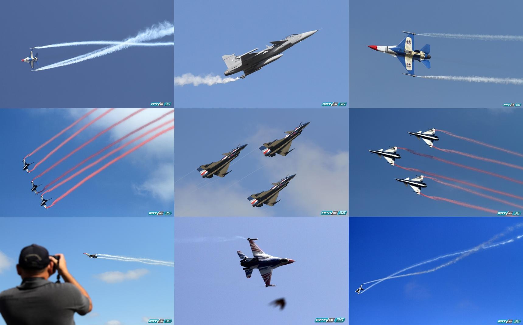 หมู่บินผาดแผลง กองทัพอากาศไทย-จีน บินโชว์ ก่อนแสดงจริง 26-27 พ.ย.นี้