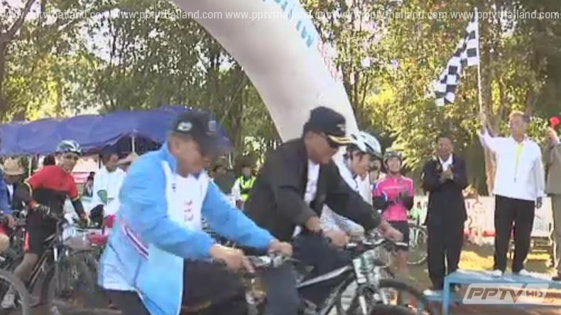 ชาวเชียงรายร่วมปั่นจักรยานเพื่อสุขภาพ