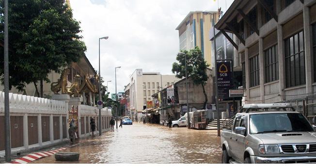 เชียงใหม่เตรียมความพร้อมป้องน้ำท่วมเขตเศรษฐกิจ