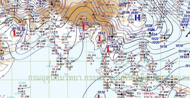 อุตุฯ ชี้จะยังมีฝนฟ้าคะนองบางแห่งหลายพื้นที่ถึงวันที่ 12 มี.ค.