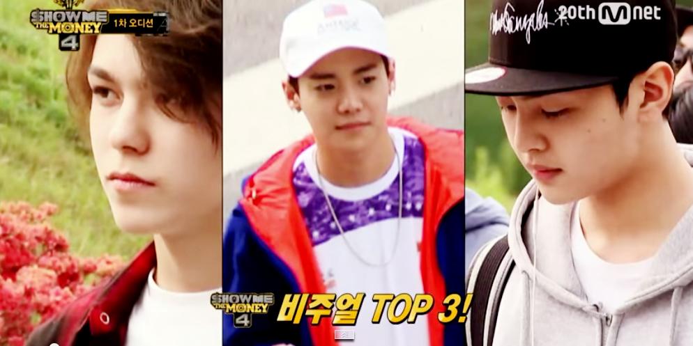 เวอร์นอน  - 1PUNCH  - คิม มิน แจ  ซุ่มออดิชั่น 'SMTM4'(คลิป)