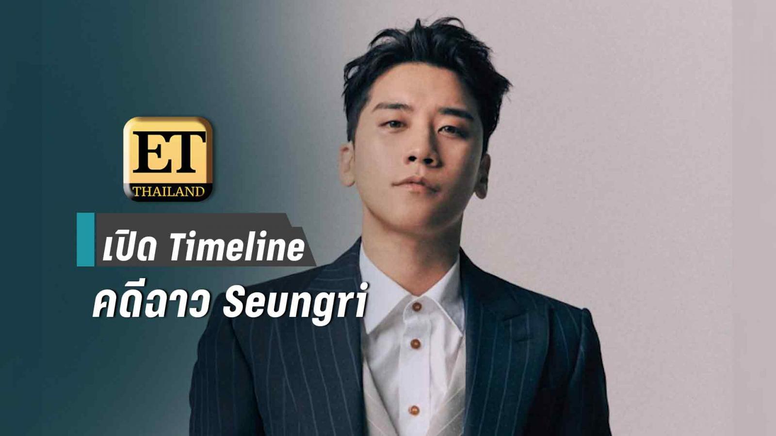 """เปิด Timeline คดีฉาว """"ซึงรี  BIGBANG"""""""