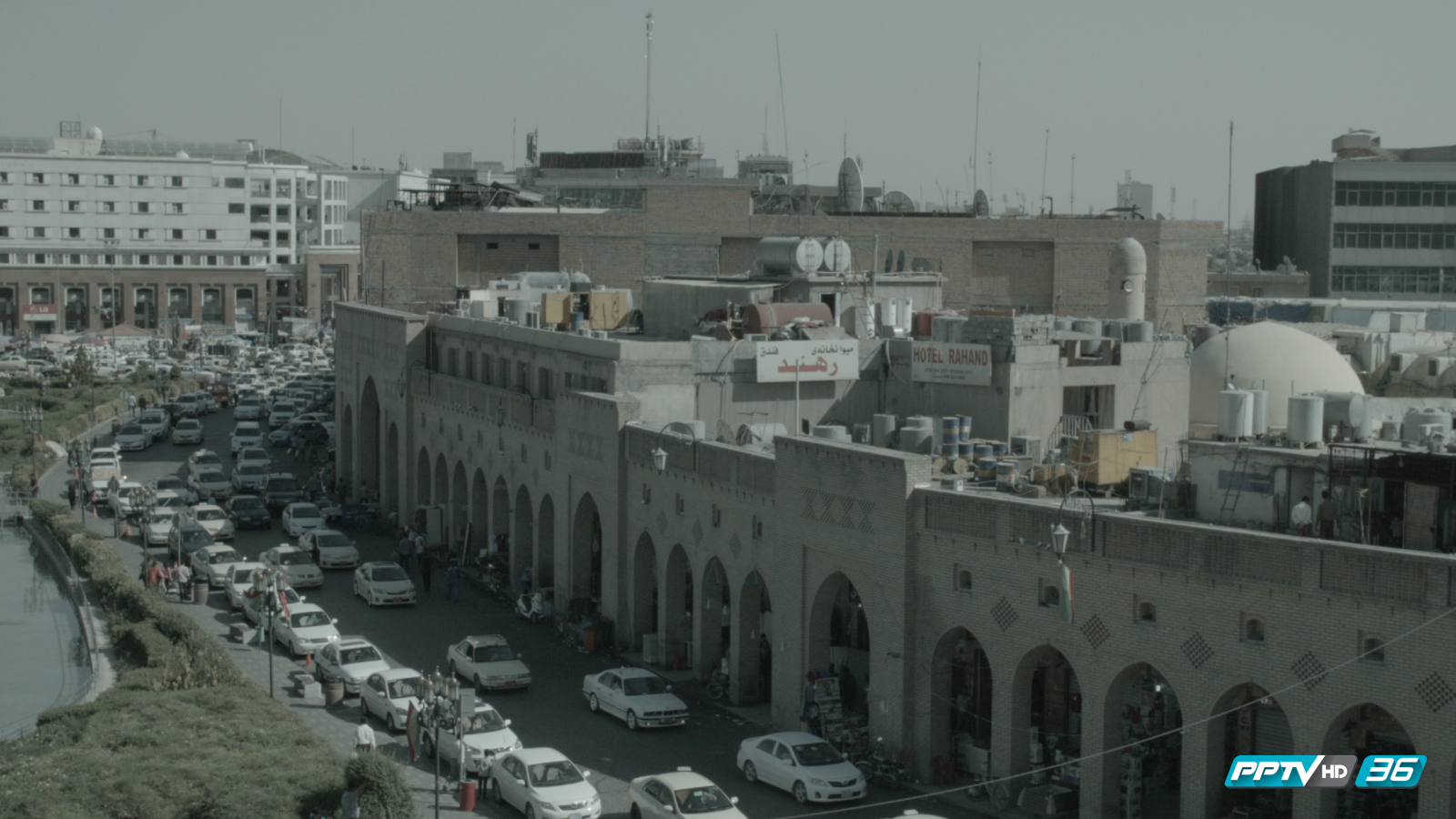 """ผ่าหลังแนวรบกลางดินแดนสงคราม """"อิรัก"""" กับ รายการ รอบโลก By กรุณา บัวคำศรี"""