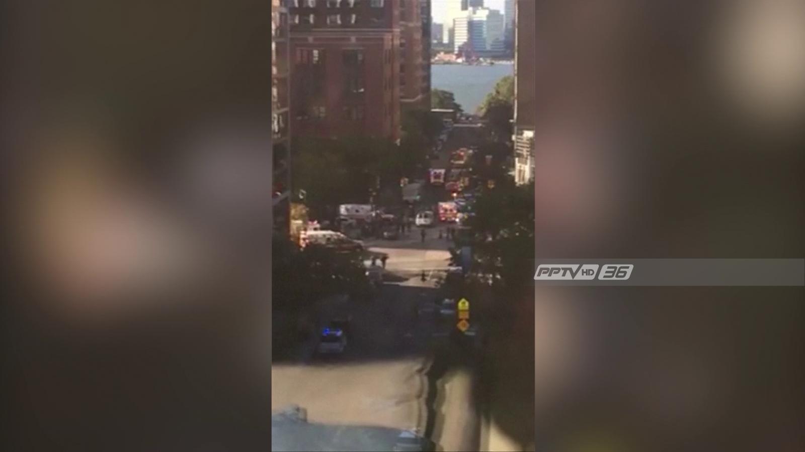 """""""ทรัมป์"""" โบ้ย """"กรีนการ์ด"""" ต้นเหตุก่อการร้ายล่าสุดในนิวยอร์ก"""