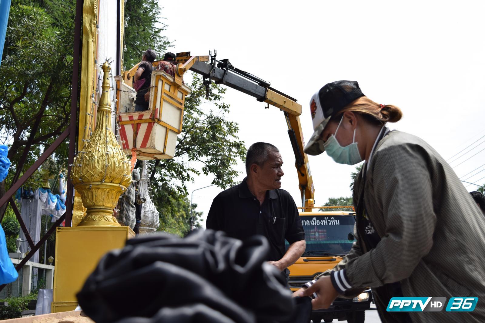 คนไทยเชื้อสายจีนย่านเยาวราช ร่วมน้อมเกล้าน้อมกระหม่อมถวายอาลัย แด่พระบาทสมเด็จพระเจ้าอยู่หัวในพระบรมโกศ