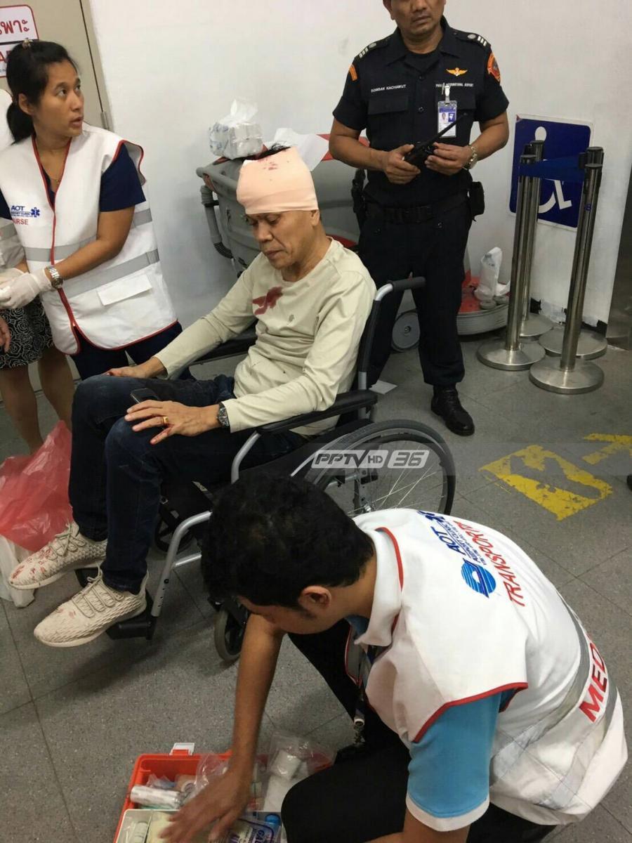 สนามบินภูเก็ต เผยสาเหตุฝ้าร่วงใส่ผู้โดยสารเลือดอาบ