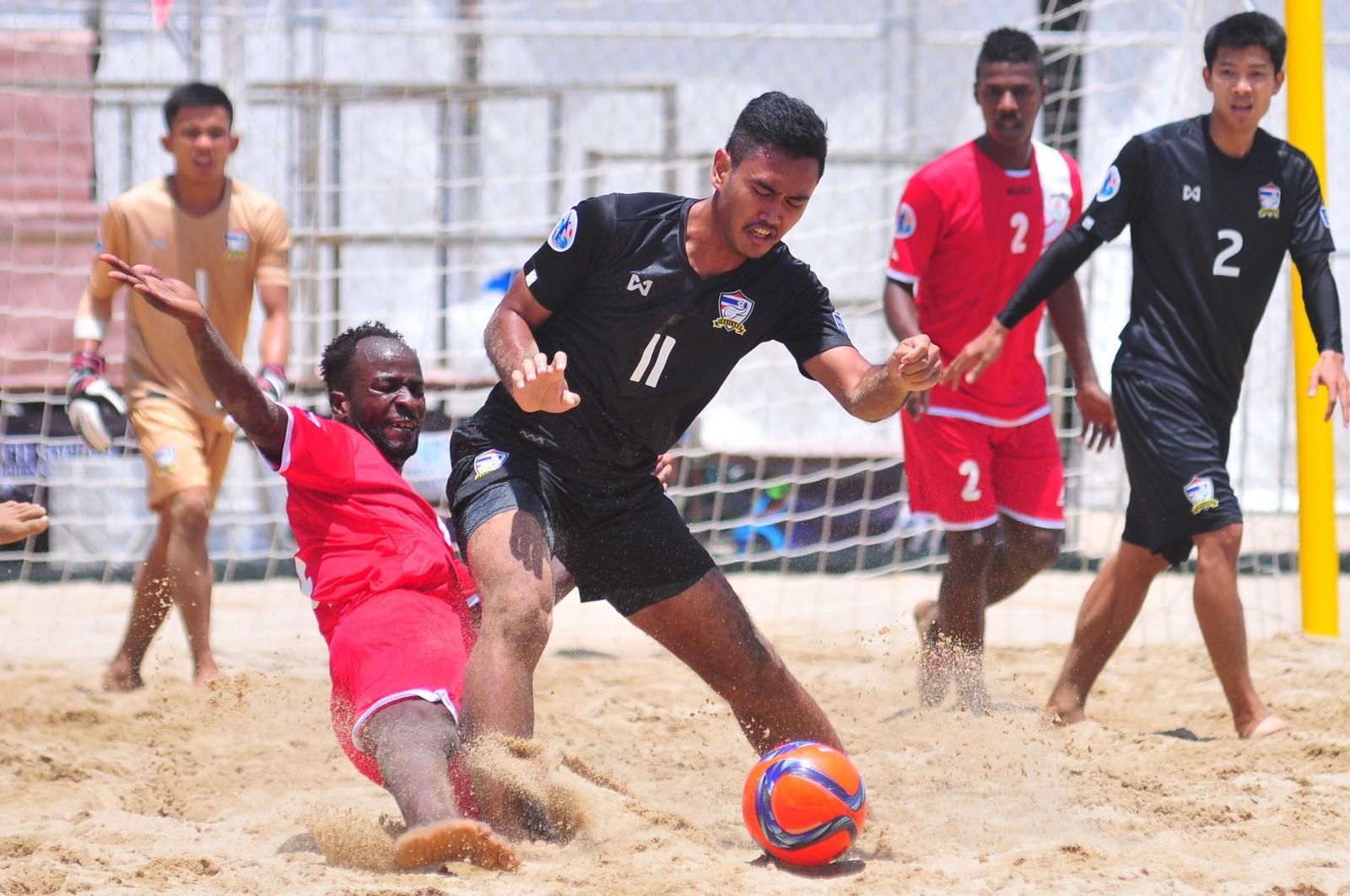 ฟุตบอลชายหาดไทย พ่าย โอมาน 2-3 ประเดิมศึกชิงแชมป์เอเชีย