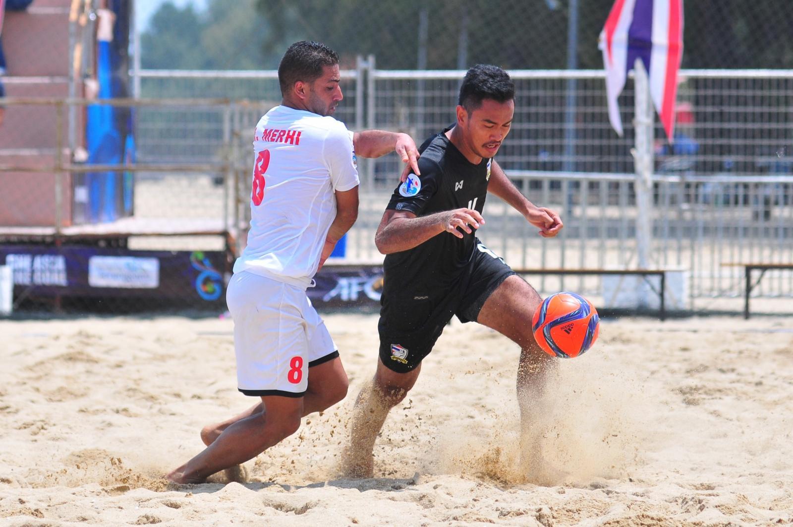 ต้านไม่ไหว! ฟุตบอลชายหาดไทย พ่าย เลบานอน 1-6 ตกรอบแรก