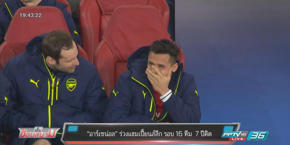 """""""อาร์เซน่อล"""" ร่วงแชมเปี้ยนส์ลีก รอบ 16 ทีม 7 ปีติด"""