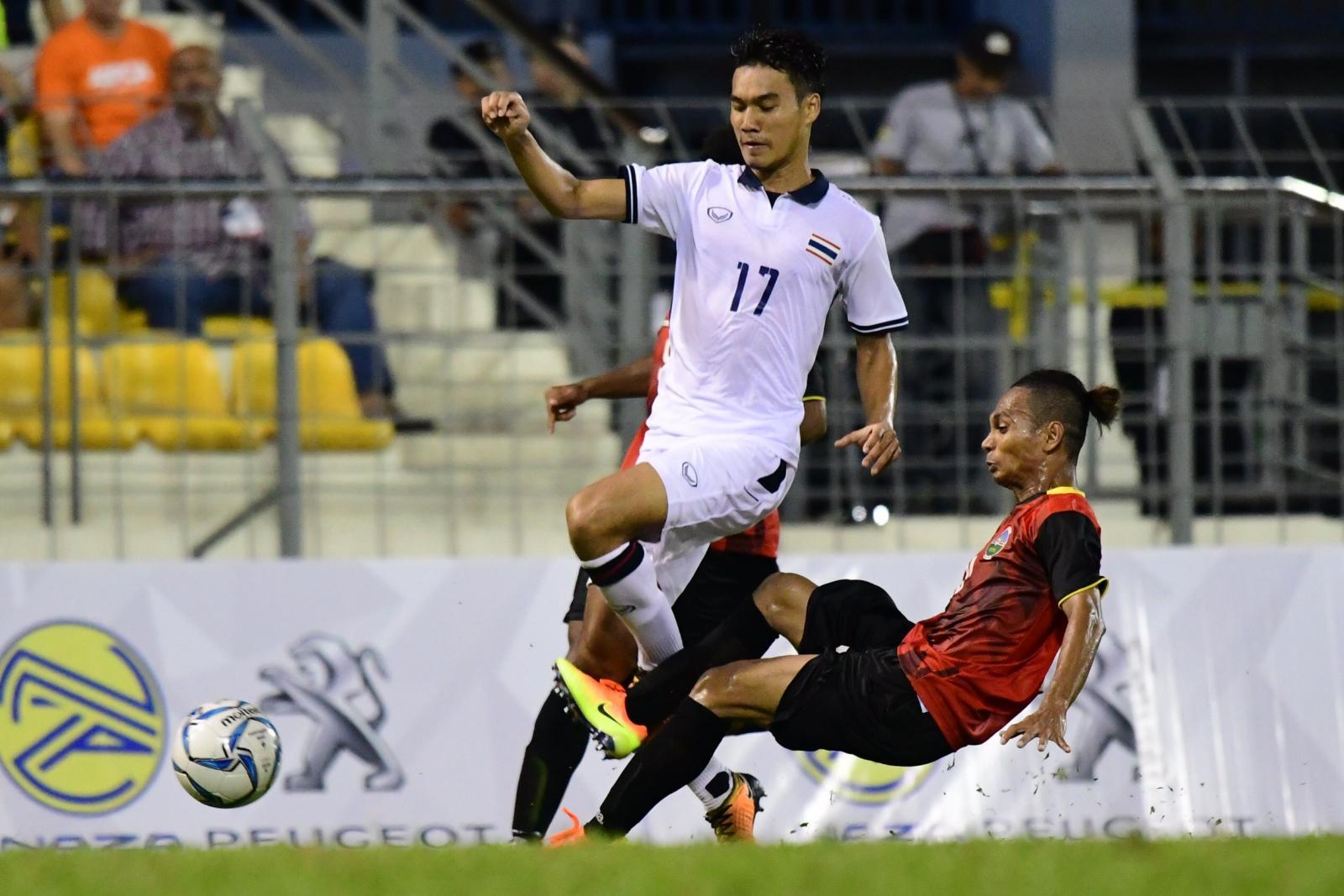 """""""แข้งไทย"""" เฉือน """"ติมอร์"""" 1-0 ประเดิม 3 แต้มแรกซีเกมส์"""
