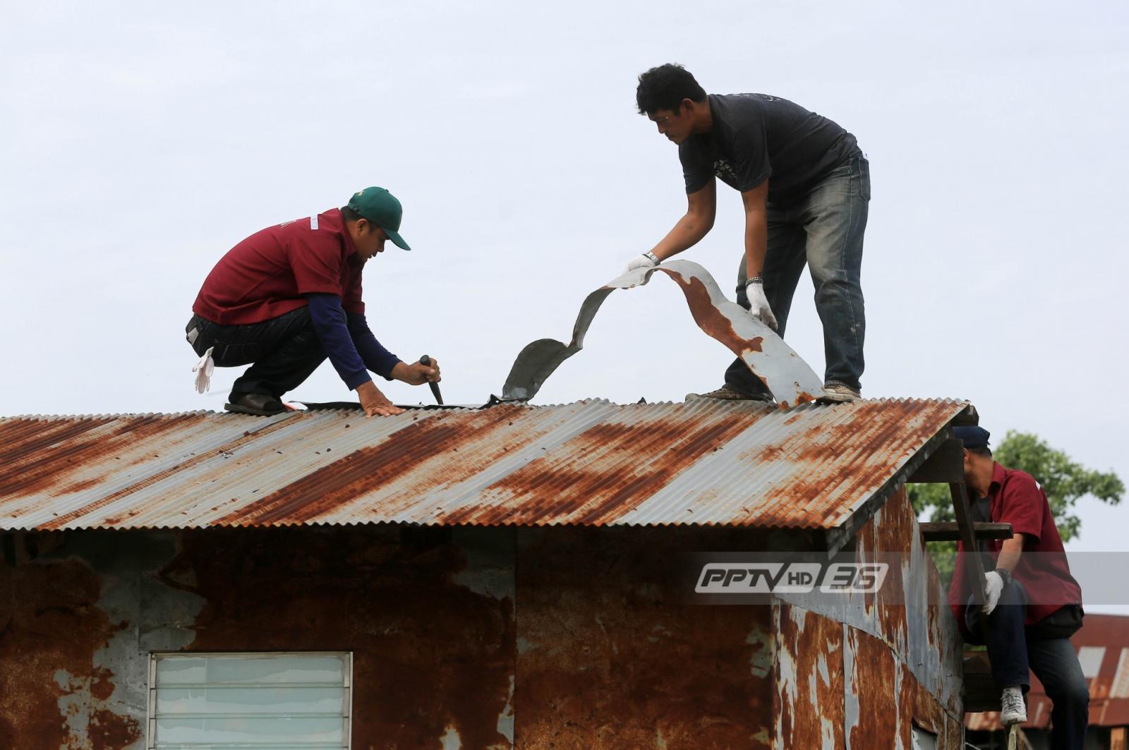 กทม.พัฒนาริมฝั่งแม่น้ำเจ้าพระยา เข้ารื้อชุมชนเขียวไข่กา 20 หลัง
