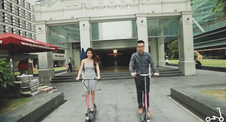 สิงคโปร์ผุดบริการแบ่งปันสกู๊ตเตอร์ไฟฟ้า