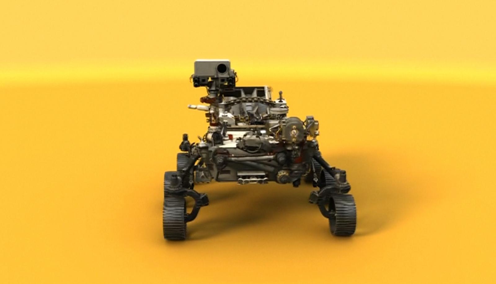 นาซา เผยโฉมยานสำรวจดาวอังคารเพื่อภารกิจปี 2020