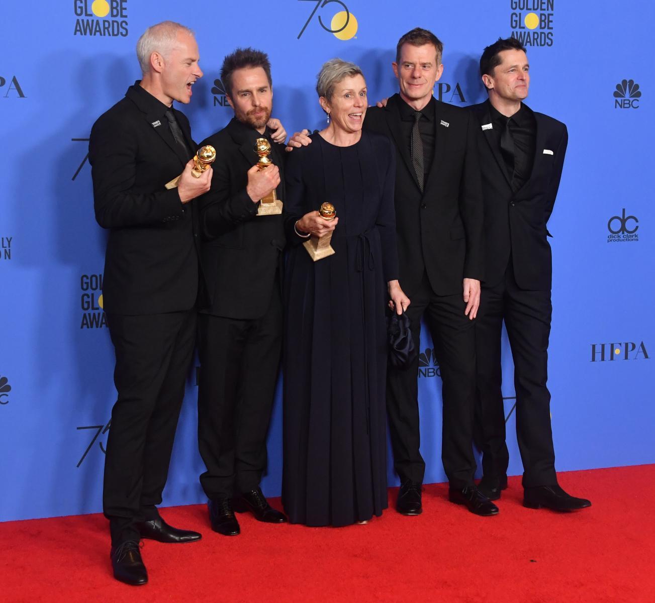 คนดังฮอลลีวูดแต่งชุดดำเดินพรมแดงลูกโลกทองคำ ต้านคุกคามทางเพศ