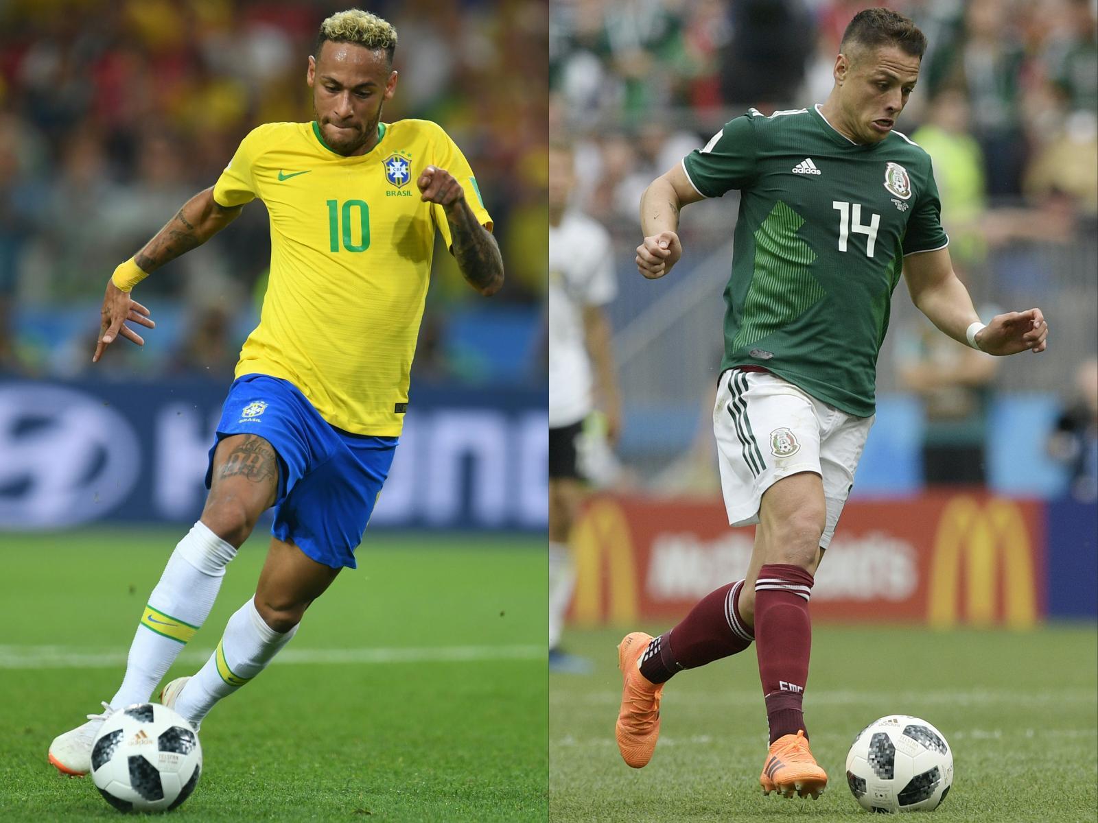 """""""เนย์มาร์"""" นำทัพ """"บราซิล"""" ลุยศึก """"เม็กซิโก"""" รอบ 16 ทีมสุดท้าย ฟุตบอลโลก2018"""