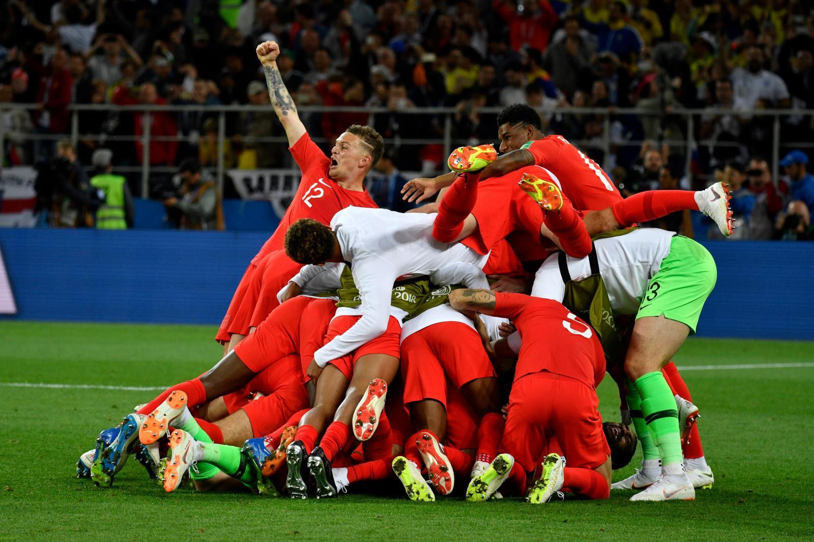 """""""อังกฤษ"""" ล้างอาถรรพ์ ดวลจุดโทษชนะครั้งแรกในฟุตบอลโลก 2018"""