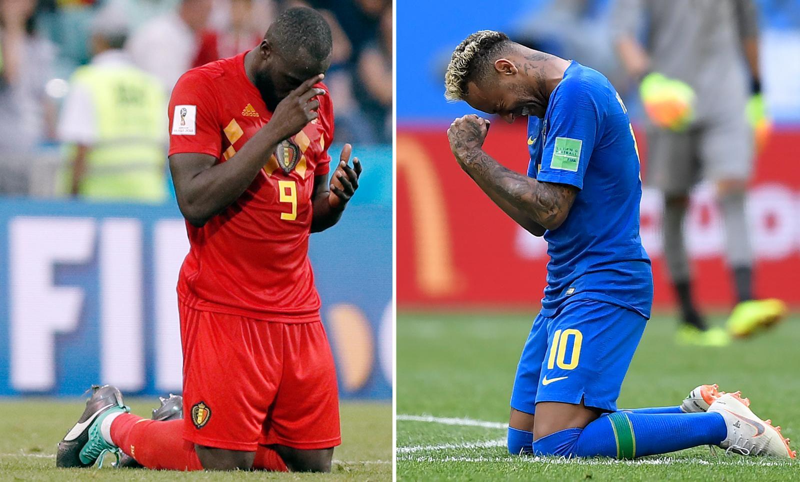 """""""บราซิล"""" ปะทะ """"เบลเยียม"""" ใครจะเข้ารอบ 4 ทีมสุดท้าย!? ฟุตบอลโลก2018"""