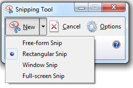 """""""Snipping tool"""" เครื่องมือแคปภาพหน้าจอง่ายๆ สไตล์วินโดว์"""