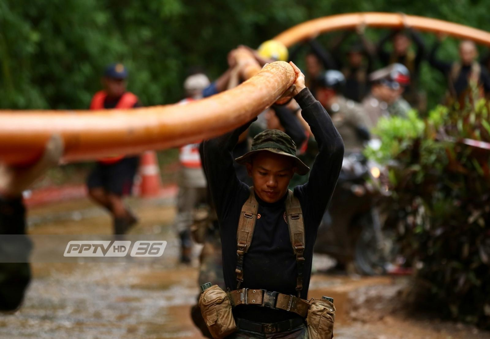 สมเด็จพระเจ้าอยู่หัว ทรงรับสั่งกองทัพถอดบทเรียนแผนช่วย 13 ชีวิตติดถ้ำหลวง
