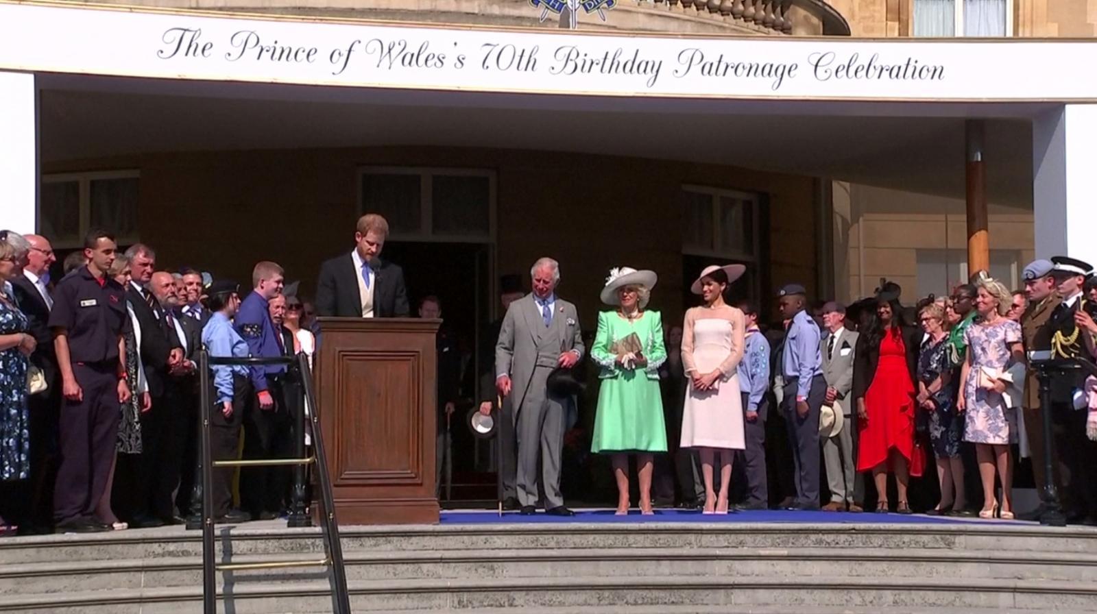 เจ้าชายแฮร์รี่-เมแกน ออกงานครั้งแรก หลังพิธีเสกสมรส
