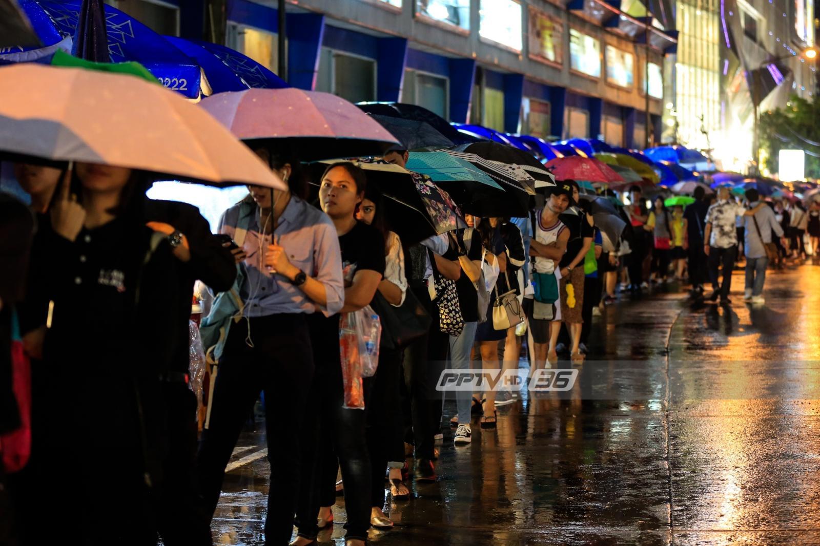 อุตุฯ เตือนทั่วไทยฝนตกต่อเนื่อง มีฝนร้อยละ 40-70 ของพื้นที่