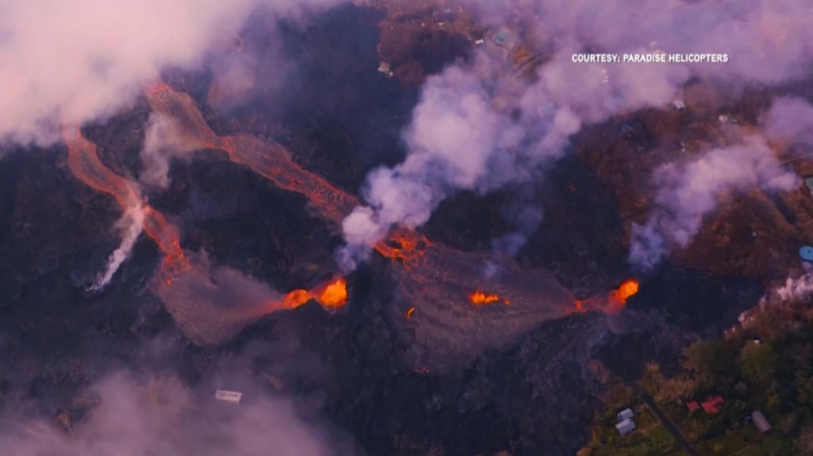 """สถานการณ์""""ภูเขาไฟคิลาเว"""" ปะทุเริ่มสงบแต่ยังต้องเฝ้าระวัง"""