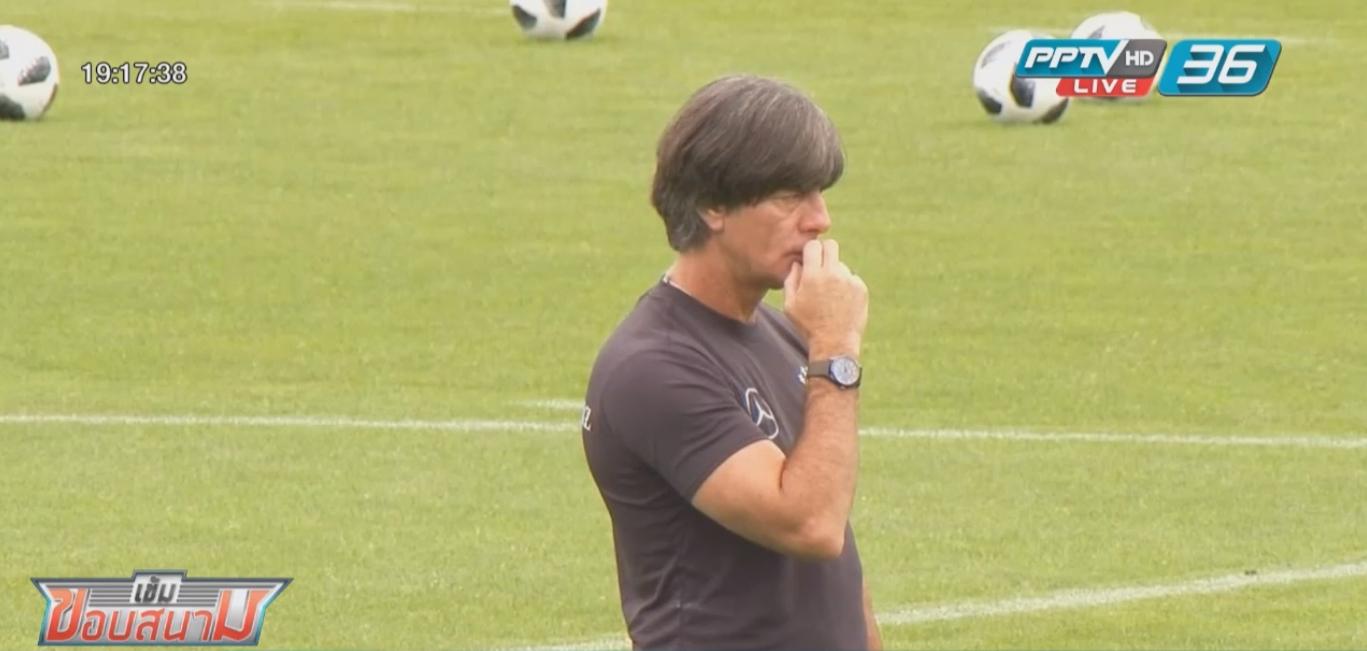 """""""ซาเน่"""" หลุด 23 คนทีมชาติเยอรมนีลุยบอลโลก"""