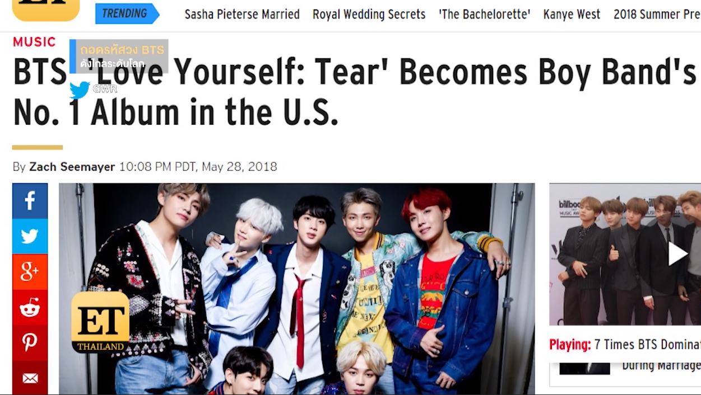 ถอดรหัสวง BTS  ดังไกลระดับโลก
