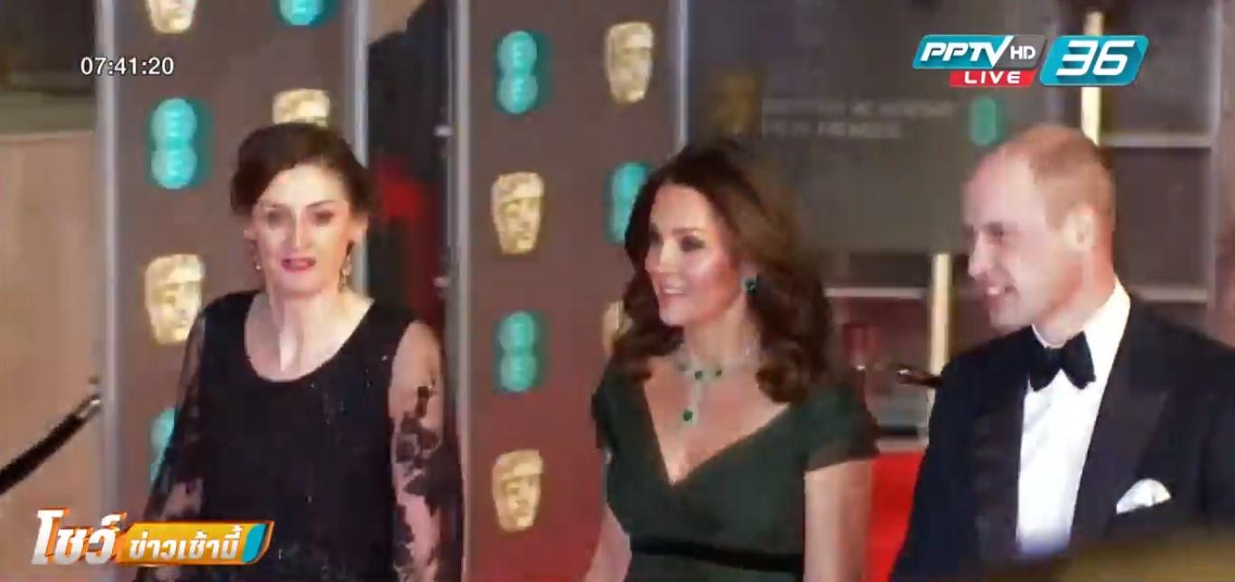 ดาราดังฮอลลีวูดร่วมงาน BAFTA ย้ำจุดยืนต่อต้านละเมิดทางเพศ