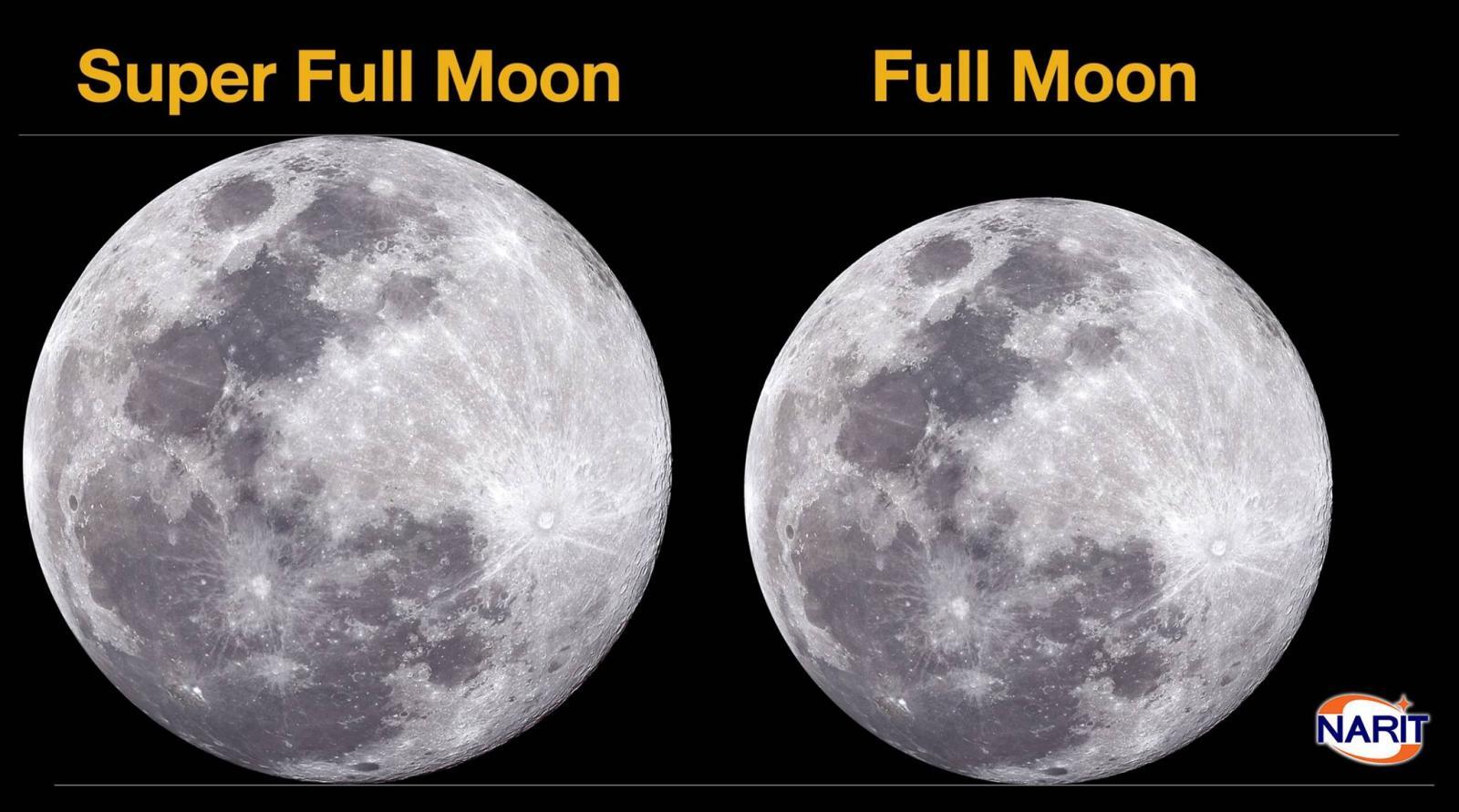 """เทคนิคล่าดวงจันทร์ดวงโต ก่อนชม """"ซูเปอร์ฟูลมูน"""""""