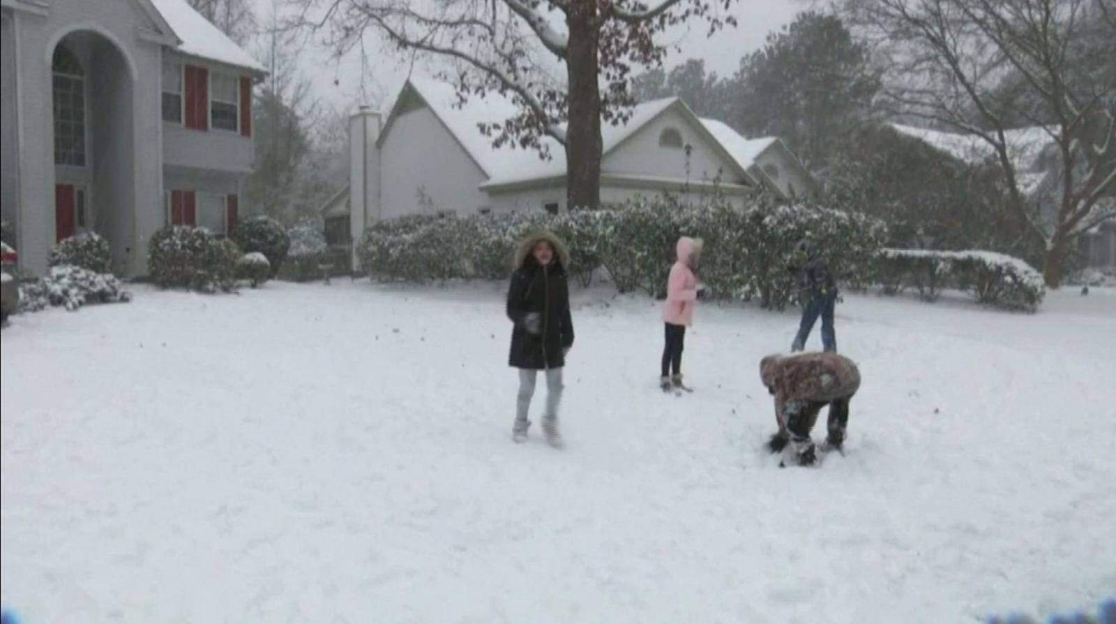 ฟลอริดาหิมะตกครั้งแรกในรอบเกือบ 30 ปี
