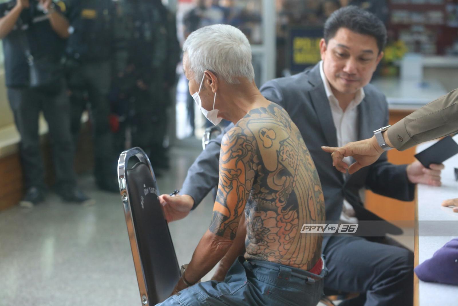 """จับ """"หัวหน้าแก๊งยากูซ่าญี่ปุ่น"""" พรางเป็นชายเร่ร่อนอยู่ไทยกว่า 10 ปี"""