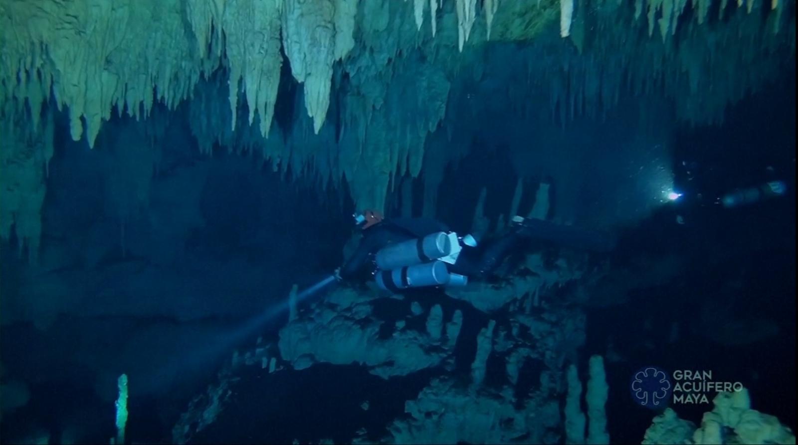 เม็กซิโกพบถ้ำใต้น้ำยาวที่สุดในโลก