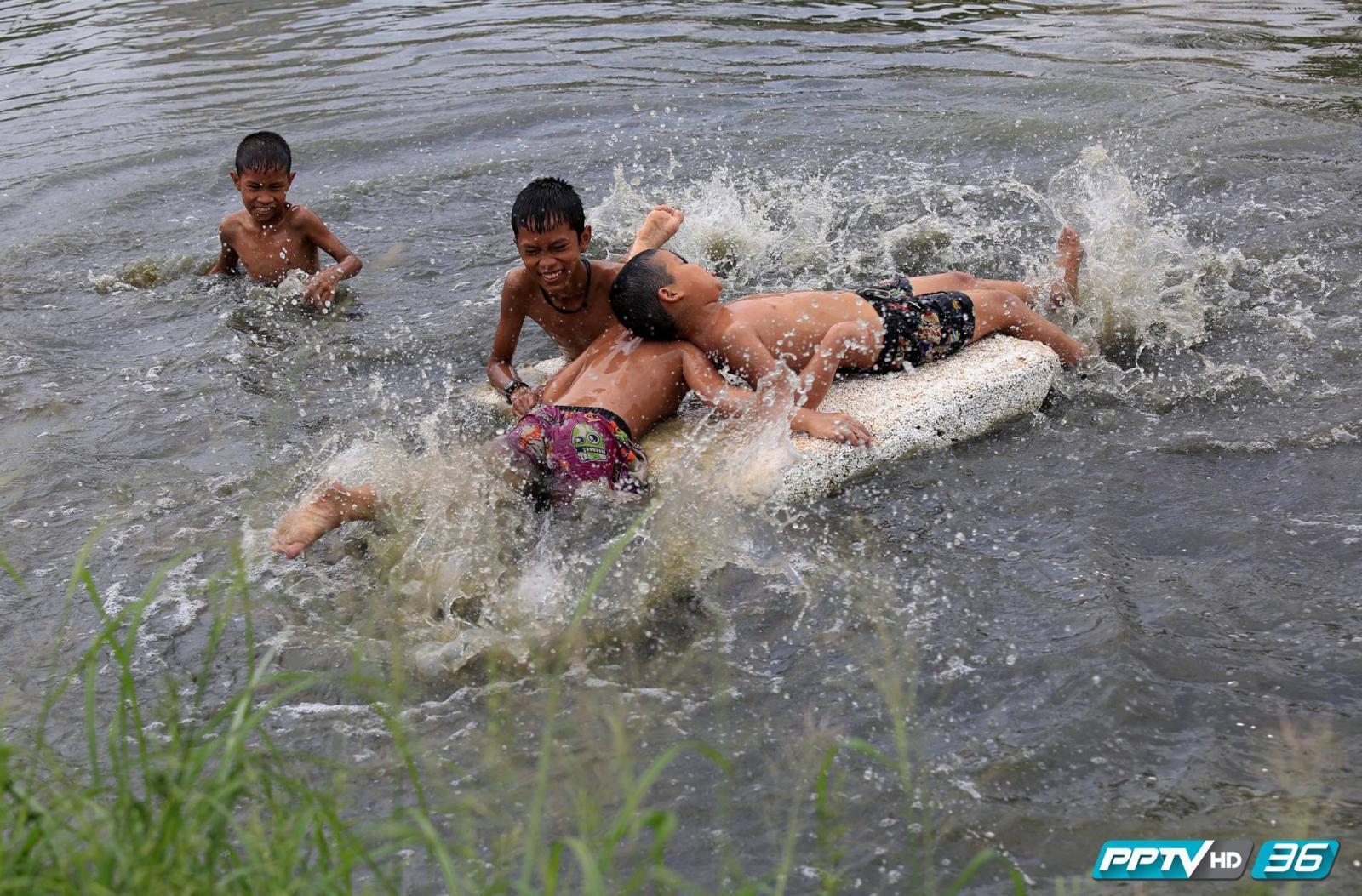 """ระวัง ! เด็กปิดเทอมเสี่ยง """"จมน้ำ"""" เสียชีวิต"""