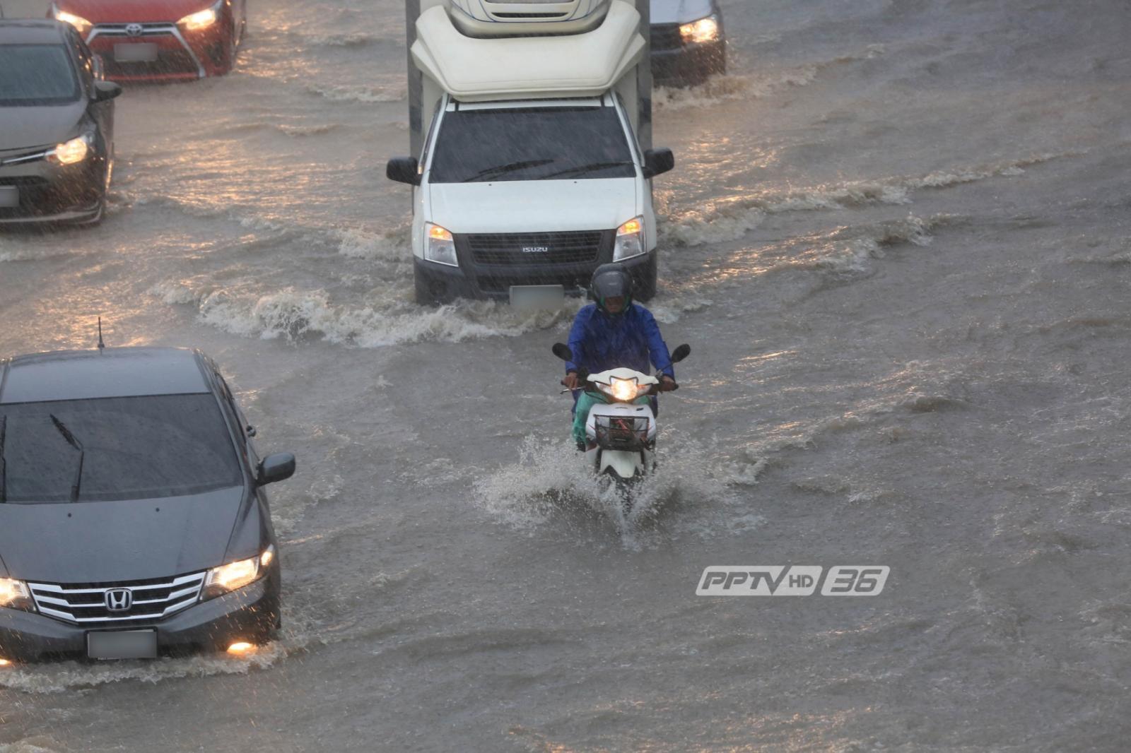 อุตุฯ เตือนไทยมีฝนตกทั่วประเทศวันนี้ ยัน