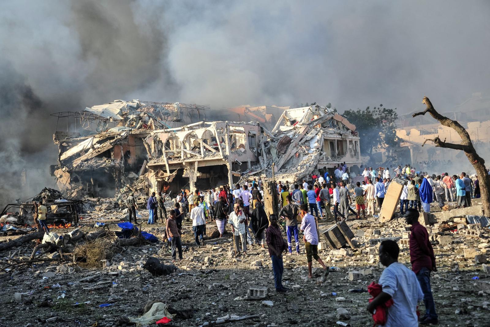 ผู้นำโลกร่วมประณามเหตุระเบิดโซมาเลีย สังเวย 276 ศพ
