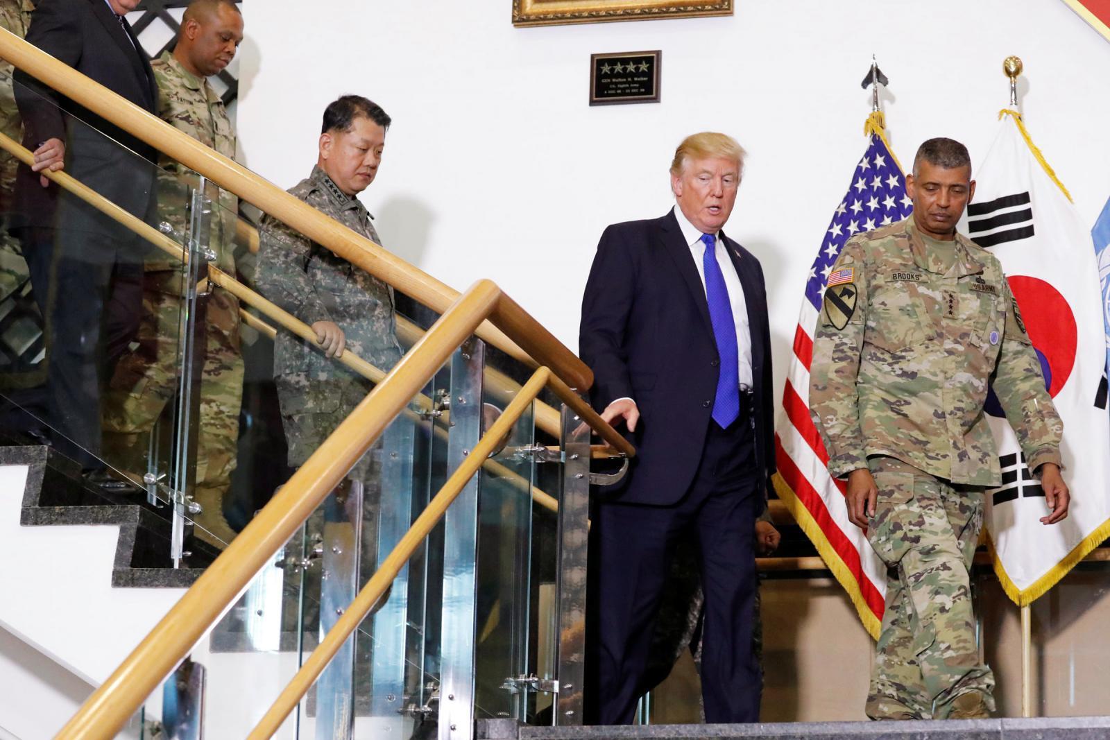 """""""ทรัมป์"""" ขู่โสมแดงหน้าบ้าน """"สหรัฐฯพร้อมใช้กำลังทหารหากจำเป็น"""""""