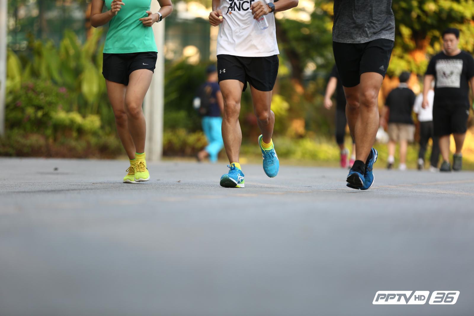 """แพทย์เตือน """"วิ่ง – ออกกำลังกาย"""" ควรวอร์มอัพ-คูลดาวน์ทุกครั้ง เพื่อลดอาการบาดเจ็บ"""