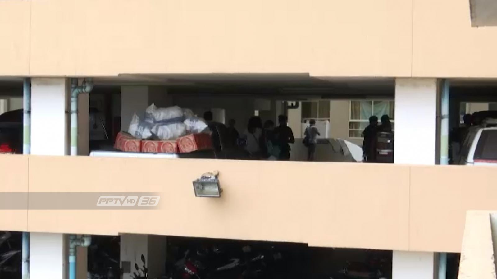 สภาวิศวกรเตรียมตรวจสอบแผงกั้นรถจากเหตุรถตกตึกชั้น 4