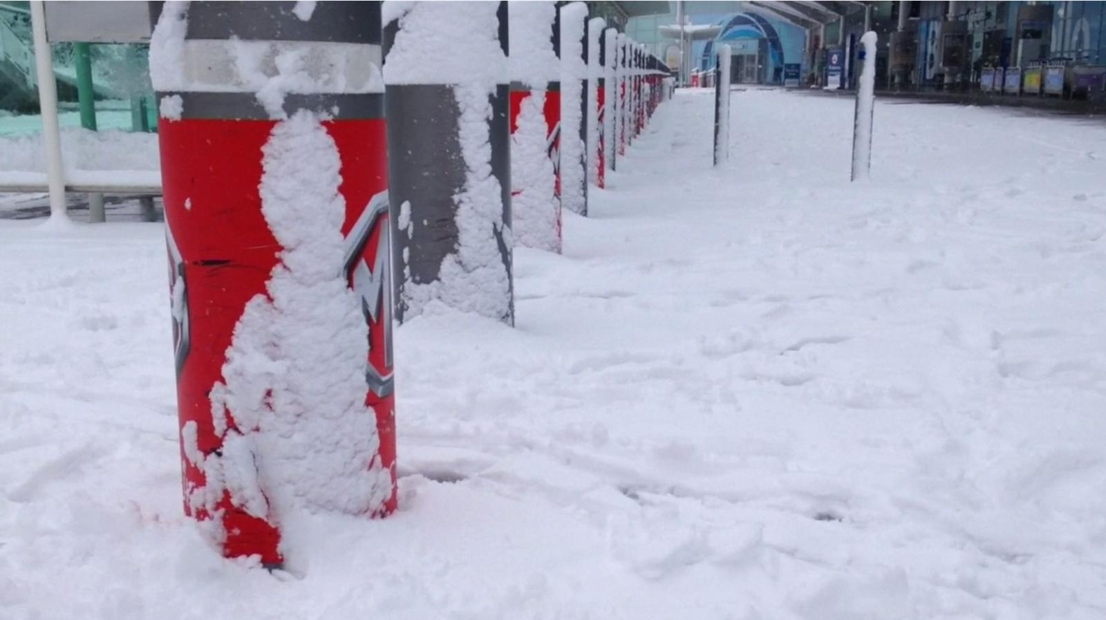 หิมะตกหนักทำการจราจรอัมพาตทั่วอังกฤษ