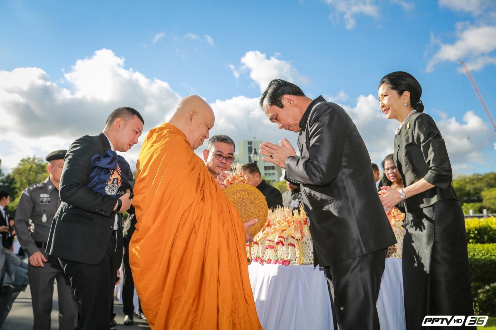 นายกฯ อวยพรปีใหม่ไทยฝากทุกคนร่วมพัฒนาประเทศ