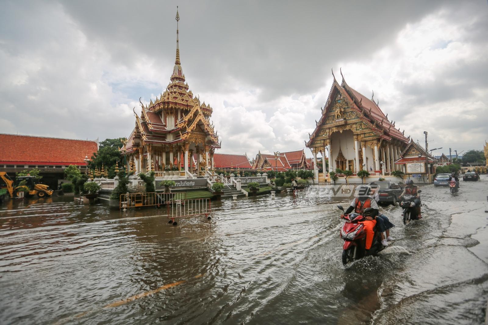กทม.อ่วมอีก อุตุฯ ชี้ฝนตกร้อยละ 80 วันนี้
